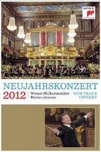 Cover Wiener Philharmoniker / Mariss Jansons - Neujahrskonzert 2012 [DVD]